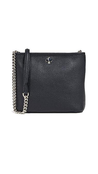 4c469df6f4cbb Kate Spade New York Women's Polly Small Convertible Crossbody Bag, Black,  One Size