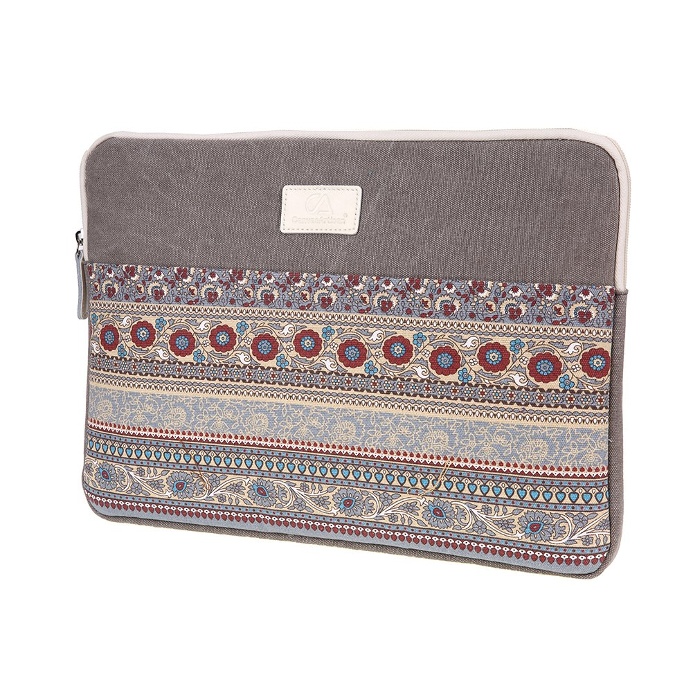 CanvasArtisan 15-15.6 Inch Laptop Sleeve Gorgeous Ethnic Style Computer Case Sleeve