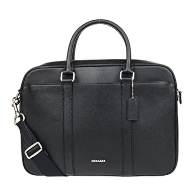 c271ae14f Image Unavailable. Image not available for. Color: Coach Mens Business  Briefcase/ Shoulder Bag Black