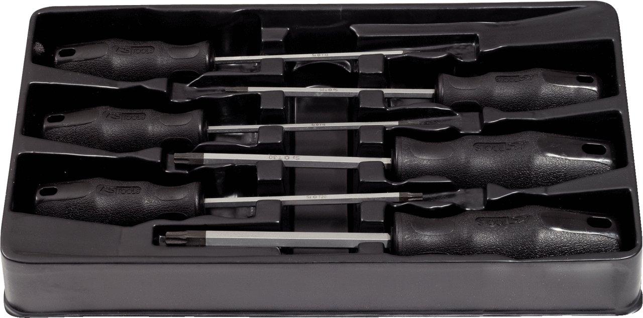 TX SK Hand Tool 4042146048672 Ergotorque Screwdriver Set Clear KS TOOLS 7 Pcs