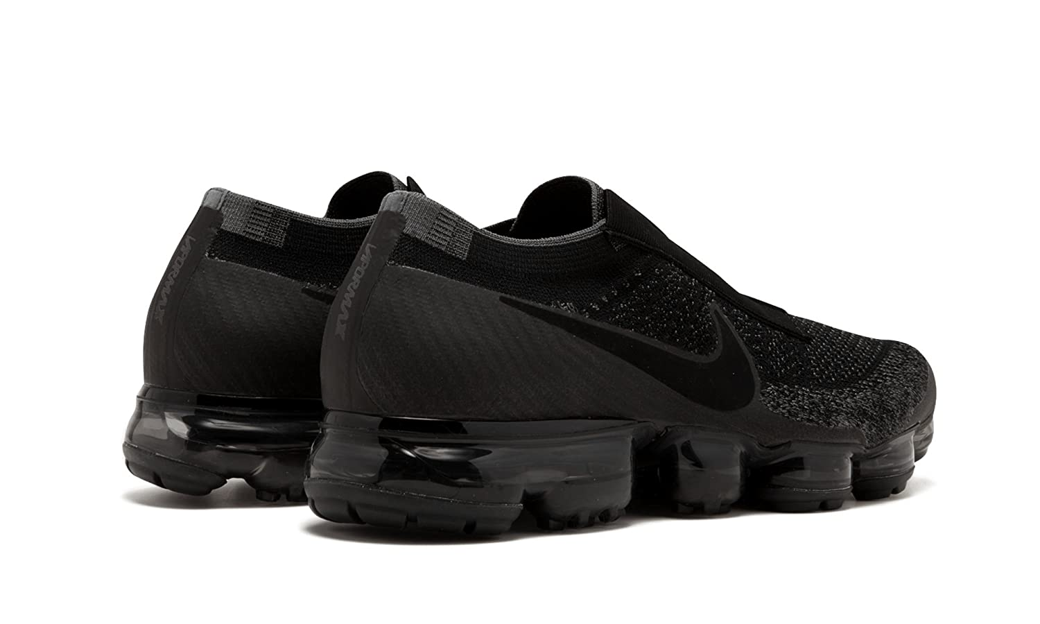 7ac0a06e517 Nike Air Vapormax Flyknit SE Laceless - Black Black-Dark Grey Trainer Size  8 UK  Amazon.co.uk  Shoes   Bags