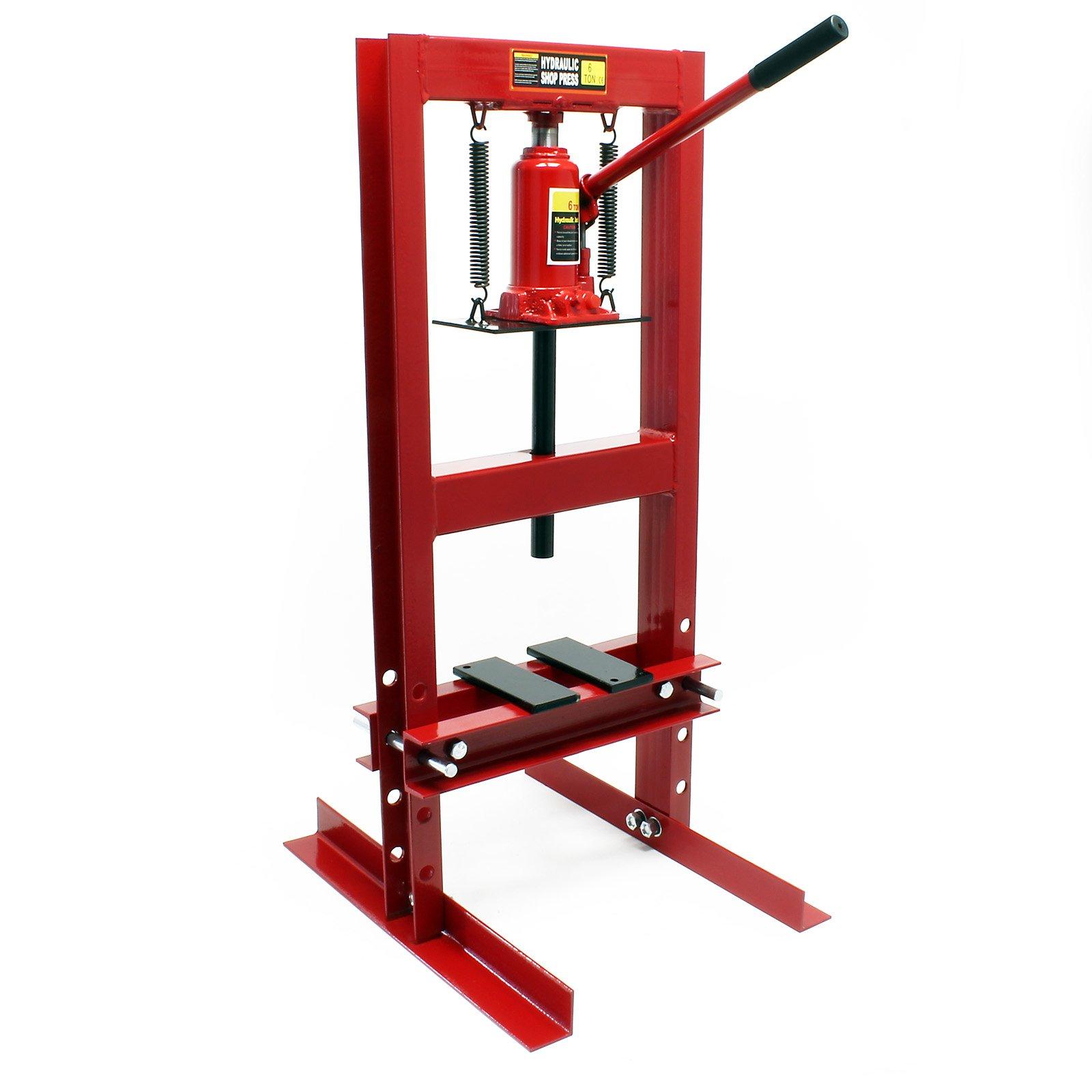 6T Prensa hidráulica Prensa taller Fuerza presión Estampar Doblar Prensar Piezas Industria Mecánica product image