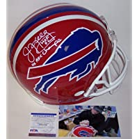 $479 » Jim Kelly Autographed Hand Signed Buffalo Bills Throwback Full Size Authentic Pro Helmet - PSA/DNA