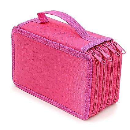 HOTEU - Estuche para lápices con 72 compartimentos, bolsa ...