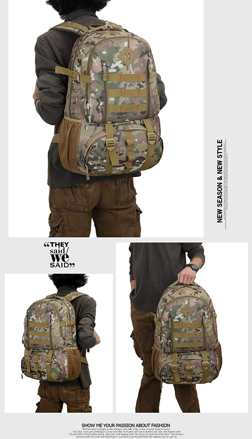 Plggg Tactical Backpack Ciclismo Mochila Nylon Suave Impermeable Y ...