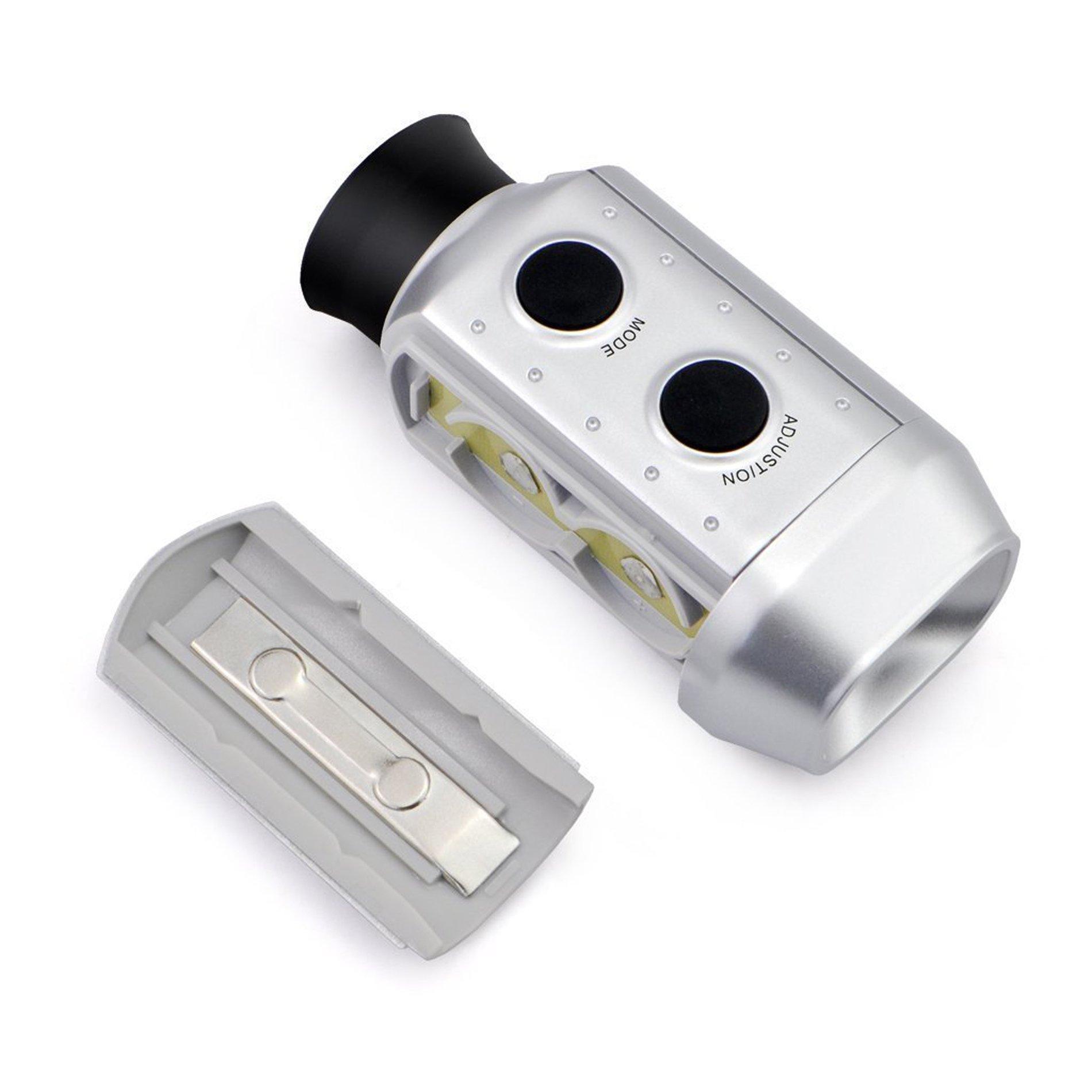 POSMA GF200 Golf Rangefinder Scope Digital Pocket 7x Zoom Golf Range Finder Magnification Distance Measurer by IDS Home (Image #4)