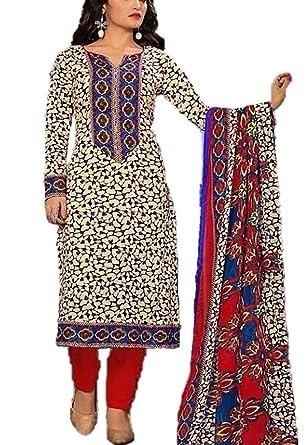 5b6ab3ccf4 Fashion4us Pakistani Suits Shalwar Kameez Ladies Dress Indian Cotton Suit
