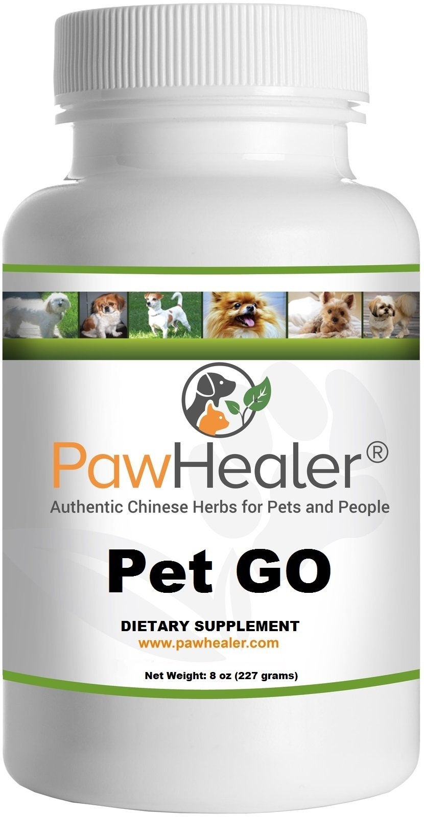 PawHealer® Pet G.O: Glandular Organs-powder-227 Grams-for Dogs & Pets by PawHealer®