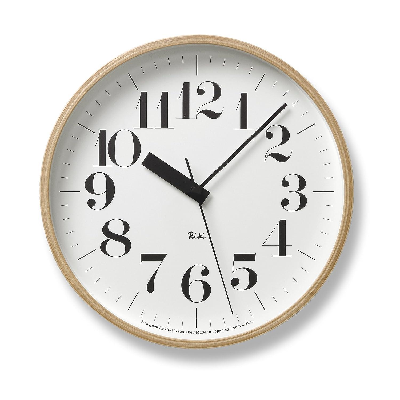 Lemnos RIKI CLOCK RC 電波時計 WR07-10 B0016OPDGA WR07-10