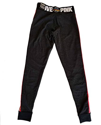 a1ccd00a1cf61 Amazon.com: Victoria's Secret PINK Yoga Campus Legging Medium Dark ...