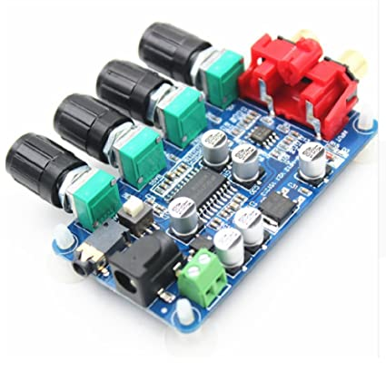 Stereo Pre-amp Preamplifier Tone Board DIY Audio: Amazon in: Electronics