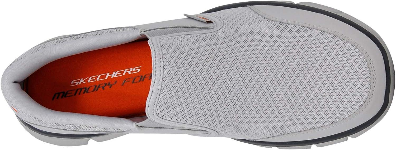 Skechers Equalizer - Persistent, Baskets Basses Homme Gris Clair