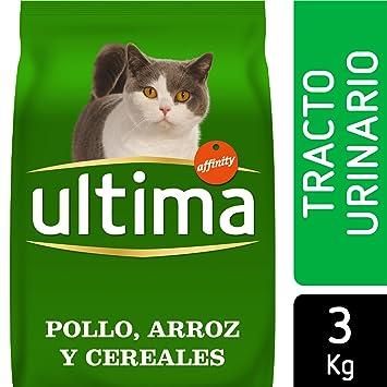 Ultima Pienso para Gatos para prevenir problemas del Tracto Urinario con Pollo: Amazon.es: Productos para mascotas
