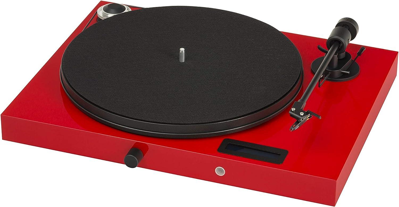 Pro-Ject Juke Box - Tocadiscos, color rojo: Amazon.es: Electrónica