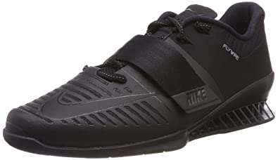 5e5f3c779c10 Image Unavailable. Image not available for. Color  Nike Romaleos 3 852933  004 Black Black Black Men s Weight Lifting Shoes ...