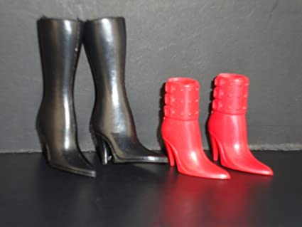 7 Wild Pairs of Shoes Made to Fit Barbie Doll