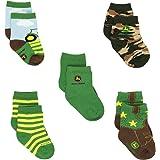 John Deere Boys 5 pack Crew Socks (Baby)