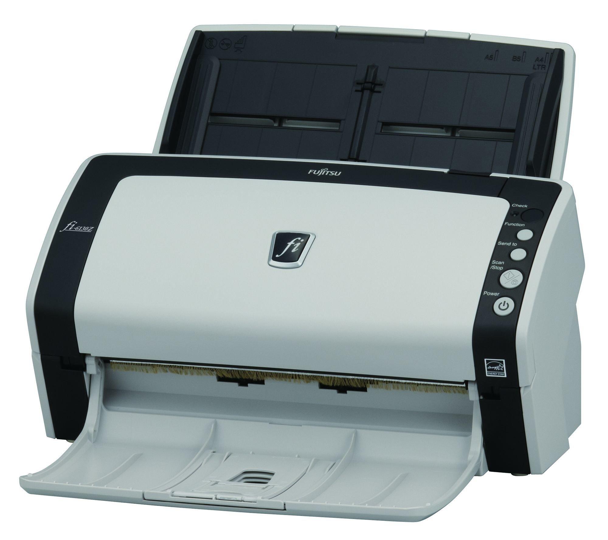 Fujitsu fi-6130Z Duplex Sheet-Fed Document Scanner (Renewed) by Fujitsu