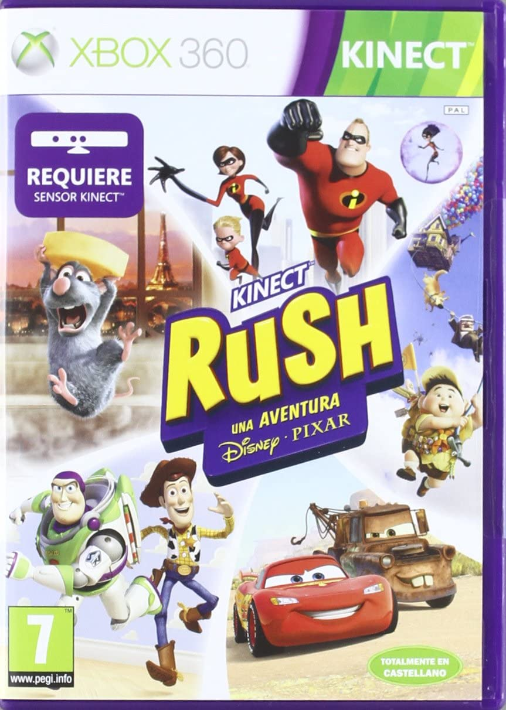 Kinect Rush: Disney Pixar Adventure: Amazon.es: Videojuegos