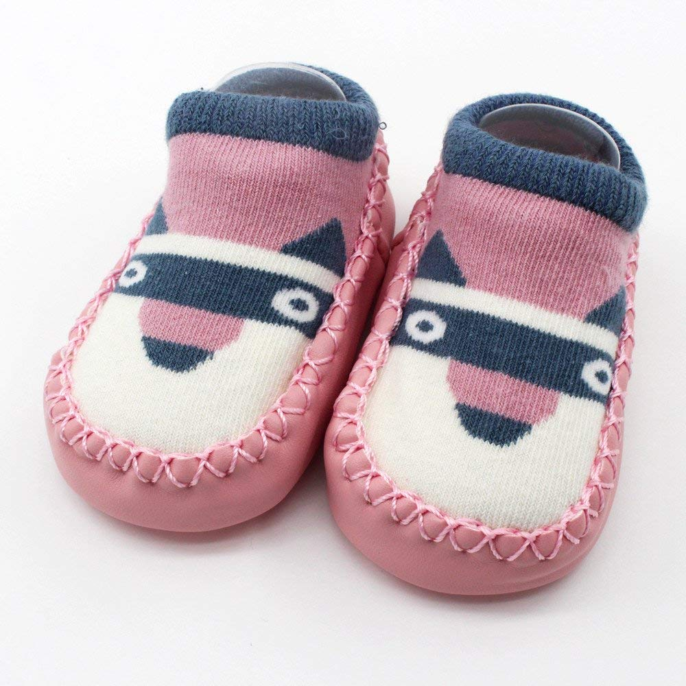 Amazon.com: SMALLE ◕‿◕ Cartoon Newborn Baby Girls Boys Anti-Slip Socks Slipper Shoes Boots: Clothing