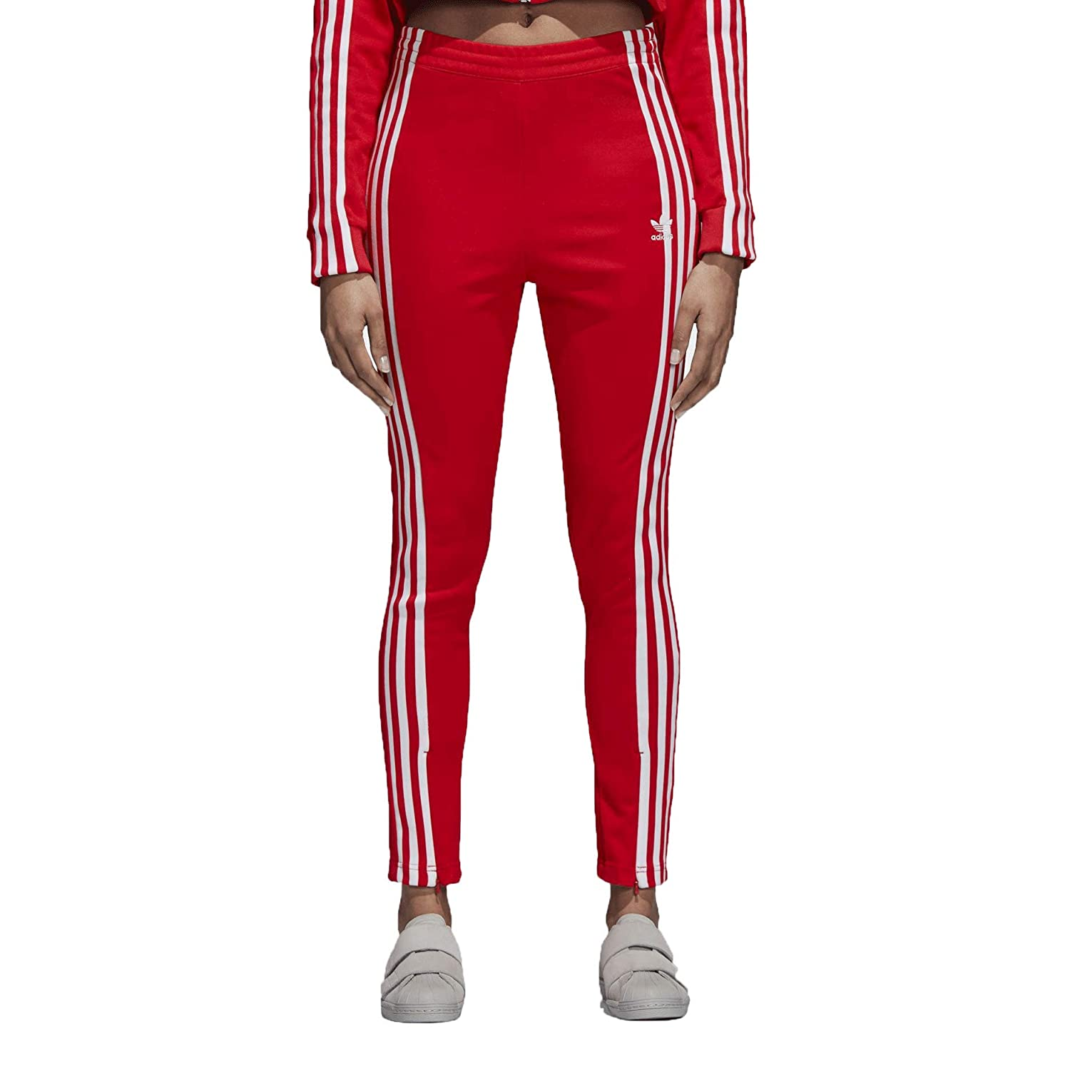7107baa278c23 Amazon.com: adidas Track Pant Womens Style : DH2716-Red Size : XL ...