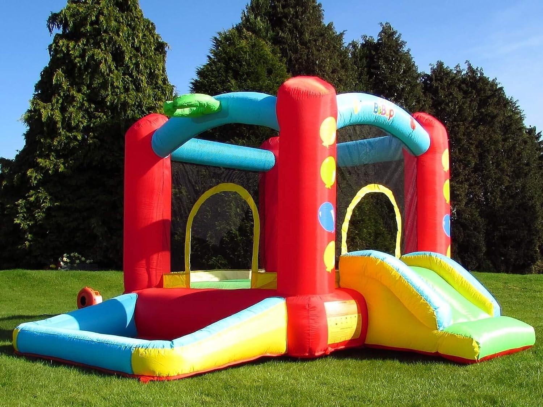 Castello Gonfiabile BeBop Balloon con Vasca Palline per Bambini ...