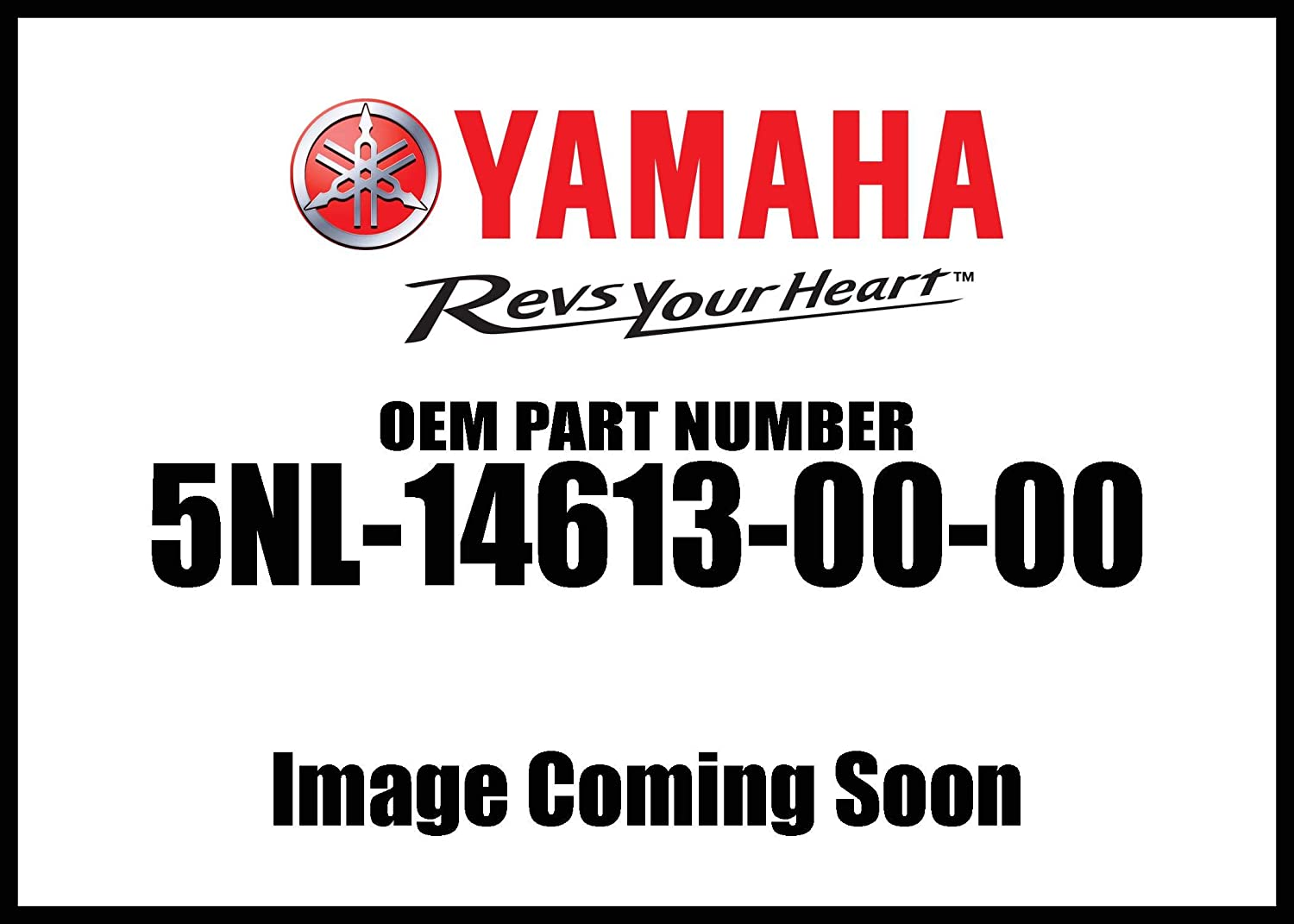 Yamaha 5NL-14613-00-00 Gasket, Exhaust Pipe; ATV Motorcycle Snow Mobile Scooter Parts
