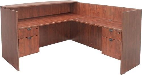 Reviewed: Regency Legacy Double Box File Pedestal Reception Desk