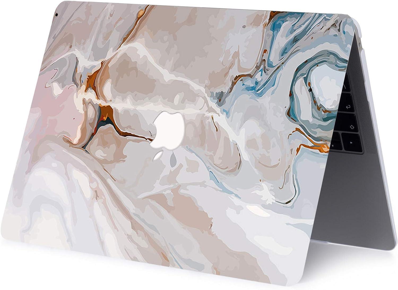 AJYX MacBook Pro 13 Zoll Geh/äuse A2289 A2251 A2159 A1989 A1708 A1706 2020 2019 2018 2017 2016 Glatte Kunststoff Schutzh/ülle Laptop Hardcover Nur Kompatibel Mit MacBook Pro 13 Grauer Marmor
