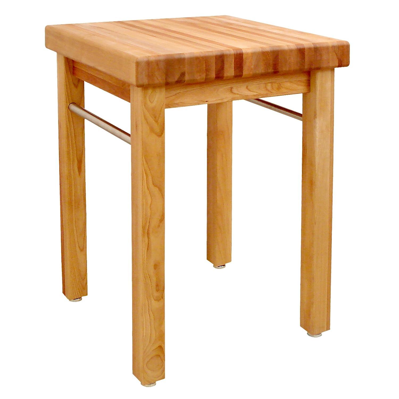 Amazon.com: Catskill Craftsmen French Country Square Butcheru0027s Block:  Kitchen U0026 Dining