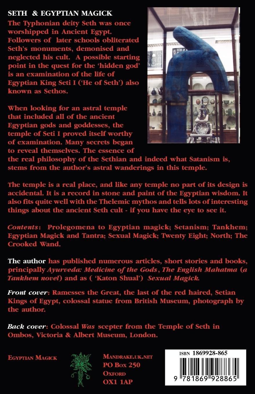 Amazon com: Tankhem: Seth & Egyptian Magick (9781869928865): Mogg