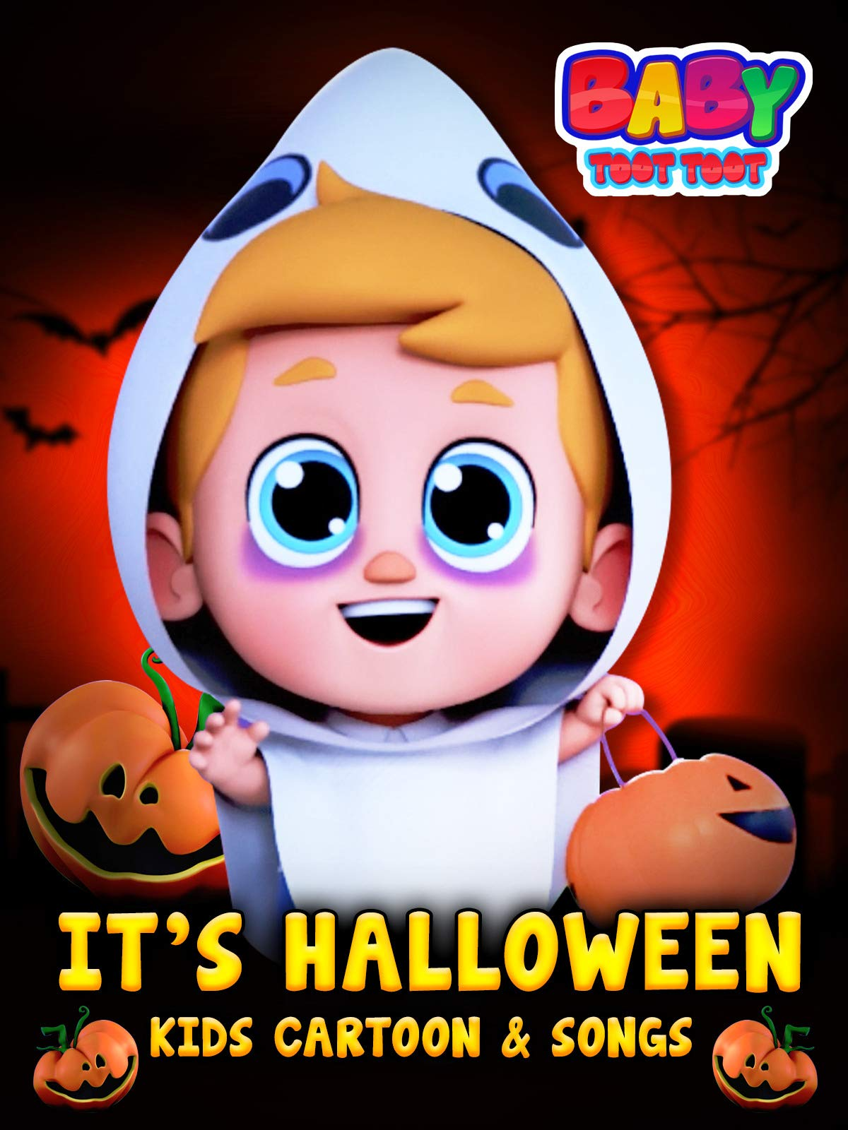 It's Halloween Kids Cartoon and Songs - Baby Toot Toot on Amazon Prime Video UK