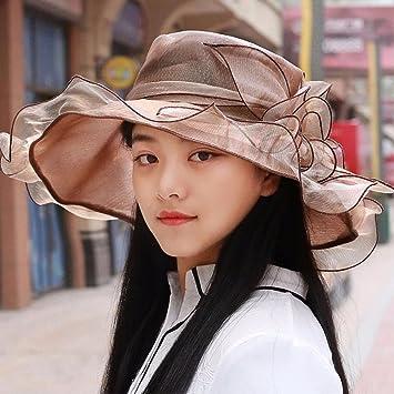 RangYR Sombrero De Mujer Sra. Cap Sombrero De Sol De Verano Gorra De Sol  Sombrero c91b5bdc57a