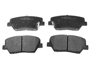 Blue print adg042137 brake pads set of 4 amazon car blue print adg042137 brake pads set of 4 malvernweather Images