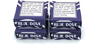 Blue Dove Squares Tablets Añil 4, 8, 16, 32 or 48 Tablets (4)