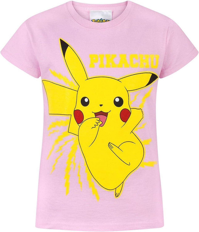 Pokémon - Maglietta Ufficiale con Pikachu - Bambina