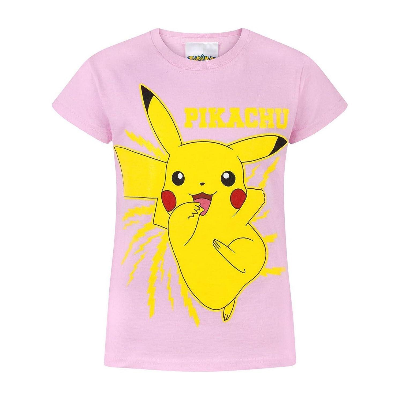 Pokémon - Maglietta Ufficiale con Pikachu - Bambina Fashion UK UTNS371_2