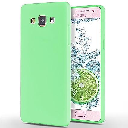 SpiritSun Funda para Samsung Galaxy A5 2015, Soft Carcasa Diseño Mate Ultrafina TPU Bumper Suave Silicona Carcasa Ultra Delgado y Ligero Goma Flexible ...