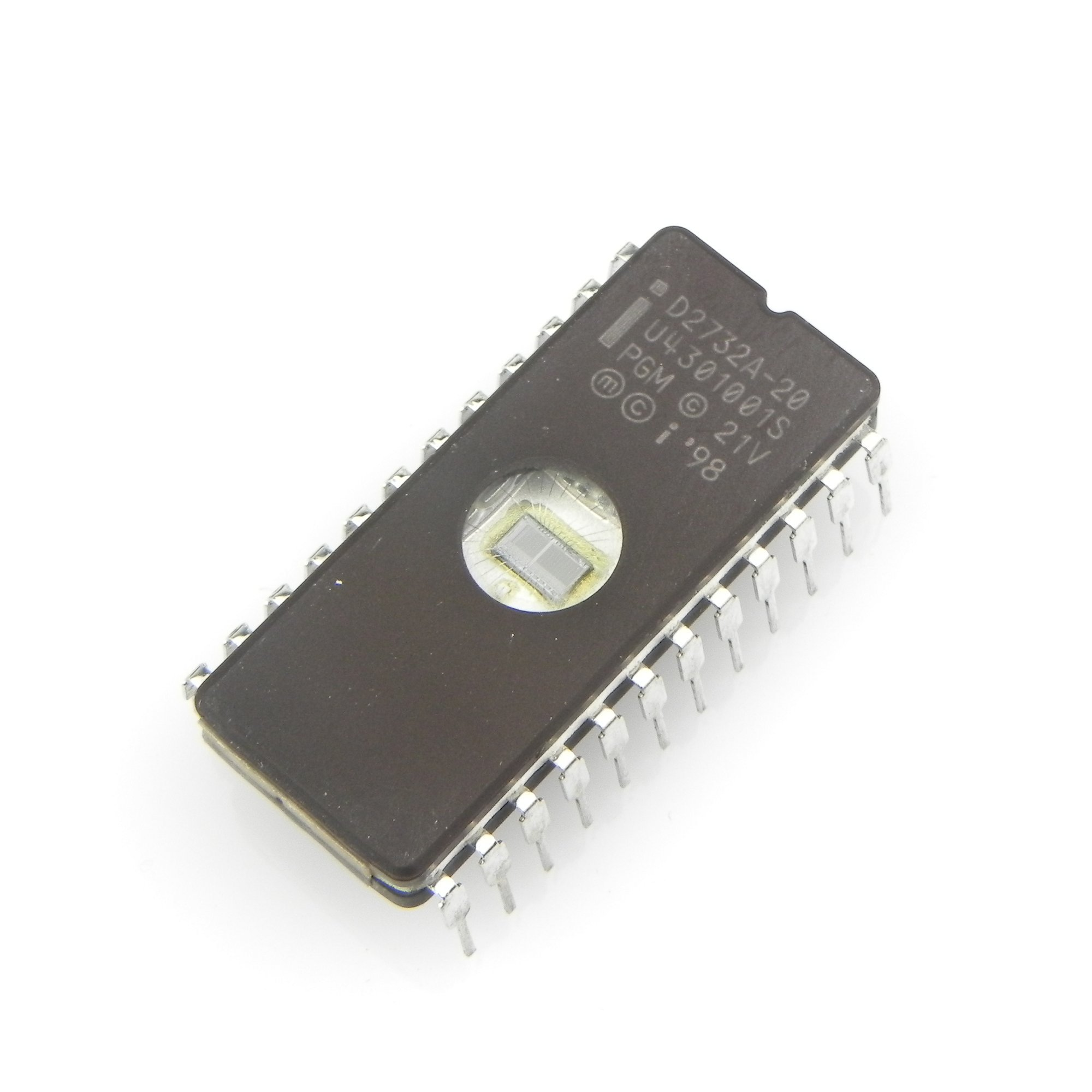 Ictouch D2732A-20 Eprom 4K x 8 MOS IC Intel Corporation CDIP-24 (Pack of 10pcs)
