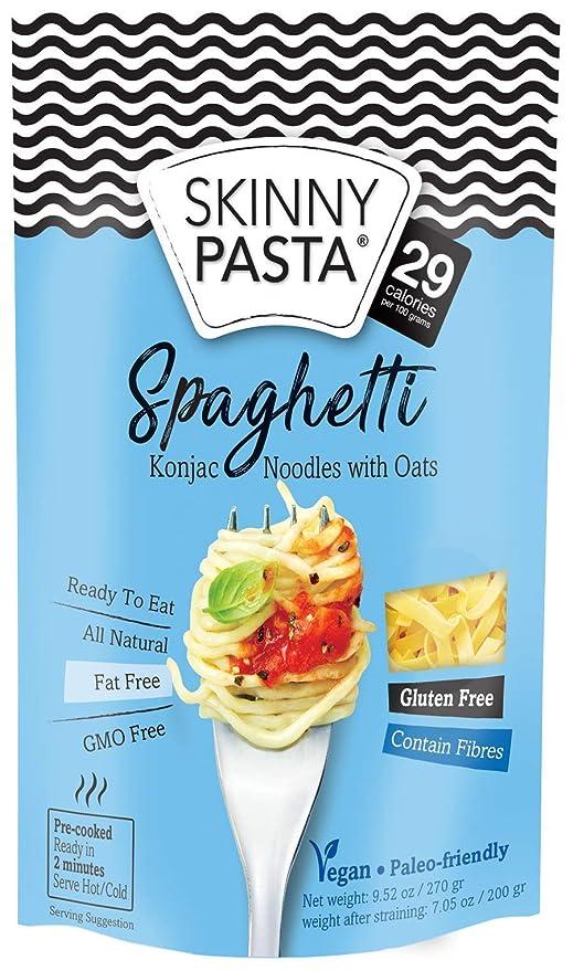 Skinny Pasta 9.52 oz - 100% Konjac Noodle (Shirataki Noodles ...