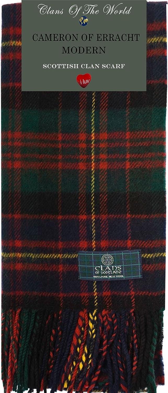 iLuv Cameron Clan Tartan Scarf Modern Lambswool
