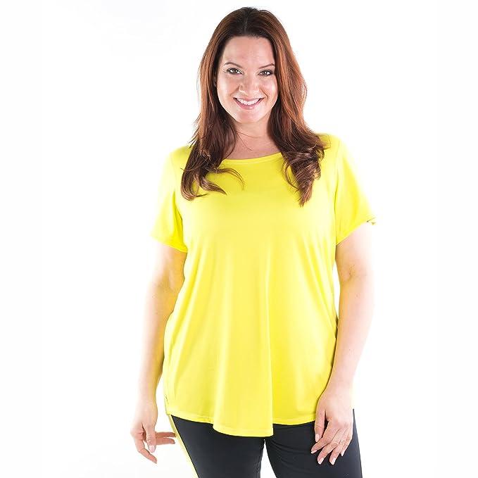4977e15e1de Workout Tunic Tops for Women - Signature Short Sleeve Shirts - XL ...