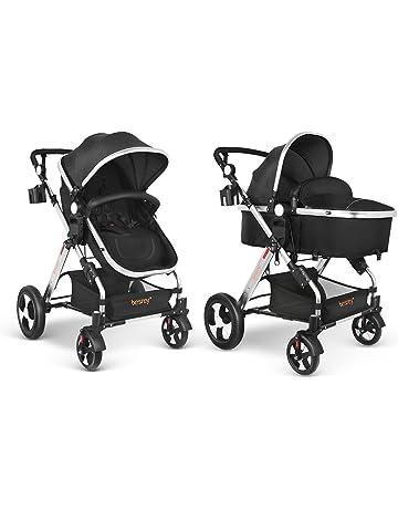 besrey Silla de Paseo Cochecito para Bebé Carrito Baby Jogger Carriage Aprobado prueba de seguridad EN1888