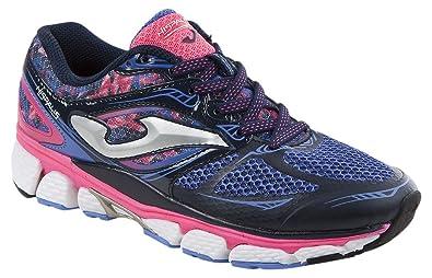 JOMA Hispalis Lady, Zapatillas de Running para Mujer, Azul (Navy), 37