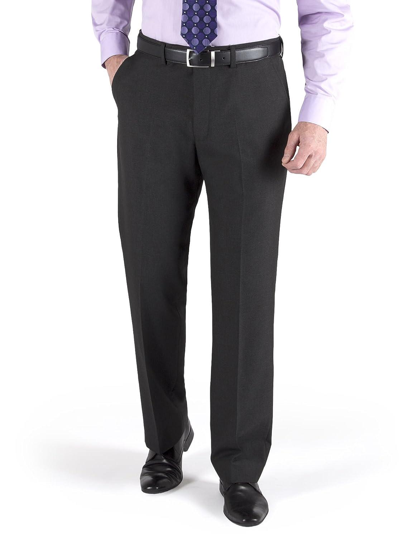 Suit Direct Men's Grey Suit trouser in 28L to 40S