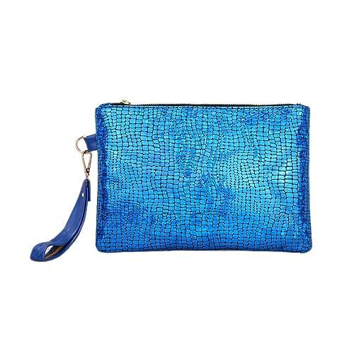 46073612d33b5 YULAND Handtasche Damen Klein Transparente Tasche Rucksack Damen  Ledertasche Kleine Frauen Bunte Entfärbung Handtasche Qualität Clutch