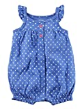 Carter's Baby Girls' 2-Pack Snap up Romper