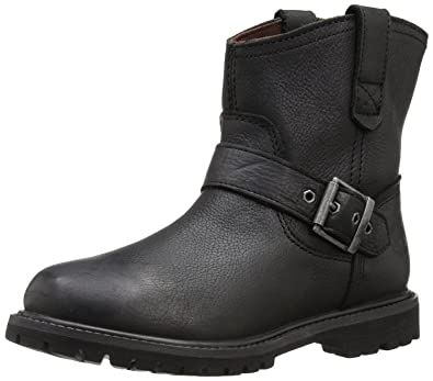 01f81cc89cc Timberland Women's 6 Inch Premium Pull On WP Boot, Black Rugged, 6 W ...