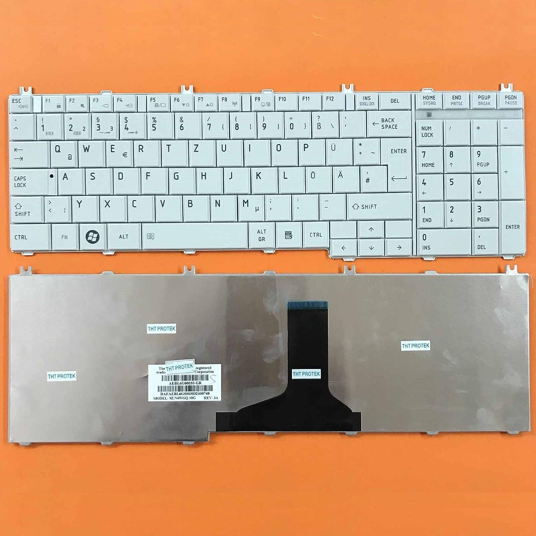 Glnzend Farbe: wei Deutsches Tastaturlayout Version 2 kompatibel ...