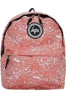 Hype Backpack Bag - Peach Splat Rucksack - Bags   Backpacks For Boys and  Girls Women 270a9fa0a3